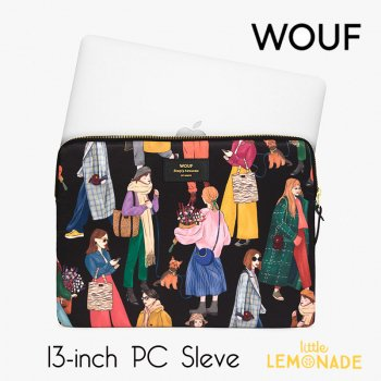 【WOUF】 13インチ PCケース 【Girls】 パソコン用スリーブ Macbook Pro 13inch PC Sleeve   (S200010)