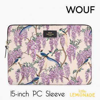 【WOUF】 15インチ PCケース 【Glycine】 パソコン用スリーブ Macbook Pro 15/16 inch PC Sleeve  (SB200011)