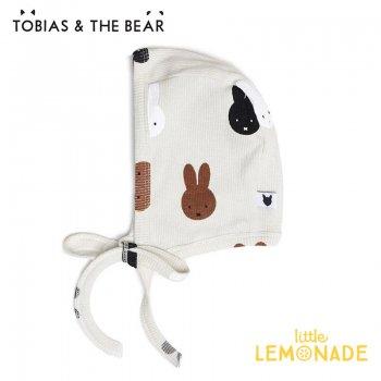 【Tobias & The Bear】 Miffy & Friends bonnet ミッフィー ボンネット ボンネット帽子 【0-6/6-12か月】 ベビー帽   (MIFFBONN)