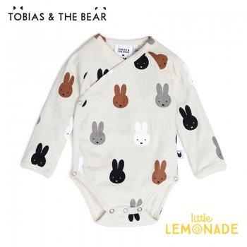 【Tobias & The Bear】 Miffy & Friends kimono bodysuit 長袖ボディ 【3-6/6-12/12-18/18-24か月】 ロンパース ミッフィー&フレンズ