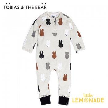 【Tobias & The Bear】 Miffy & Friends romper カバーオール 長袖長ズボン 【3-6/6-12/12-18/18-24か月】 ミッフィー&フレンズ