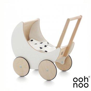 【ooh noo】   Toy Pram White 手押し車 トイプラム ホワイト