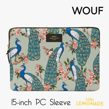 【WOUF】 15インチ PCケース 【Royal Forest】 パソコン用スリーブ Macbook Pro 15/16 inch PC Sleeve  (SB190008)
