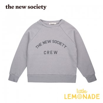【The New Society】 The New Society Crew Sweater Soft Blue 【3歳/4歳/6歳】 スエットシャツ トレーナー 20AW