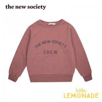 【The New Society】 The New Society Crew Sweater ROSE TAUPE  【3歳/4歳/6歳】 スエットシャツ トレーナー 20AW