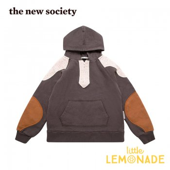 【The New Society】 Dorian Sweater CARBOON  【4歳/6歳】 パーカー フード付き トレーナー 20AW