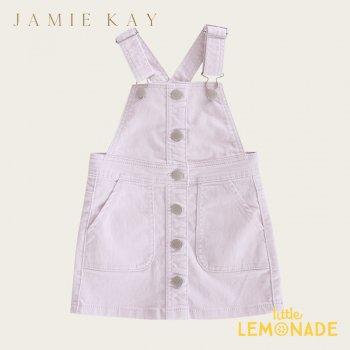 【Jamie Kay】GRACE DRESS - SOFT LILAC【1歳/2歳/3歳/4歳】 コーデュロイ スカート ジャンプスカート ライラック  AW SALE