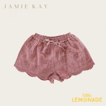 【Jamie Kay】QUINN SHORT - PRAGUE  【1歳/2歳/3歳/4歳】 刺繍キュロット ボトムス スカート ジェイミーケイ  AW SALE