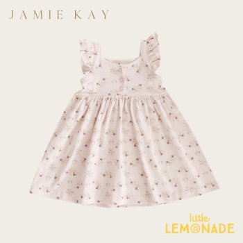 【Jamie Kay】SIENNA DRESS - SWEET PEA FLORAL 【1歳/2歳/3歳】 花柄 ワンピース ジェイミーケイ  AW SALE
