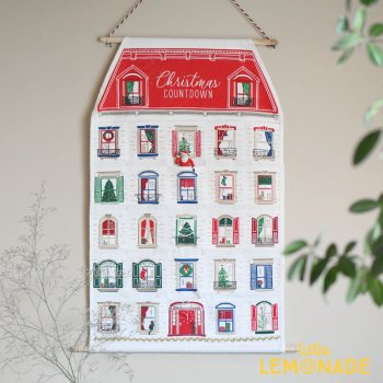【Paper Source】タペストリー型 アドベントカレンダー クリスマス 飾り advent calendar