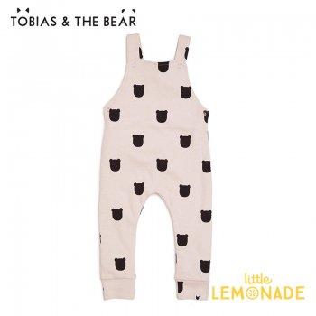 【Tobias & The Bear】 ブラッシュベアー サロペット 【3-6/6-12/12-18/18-24か月】 Blush Bear dungarees  (BLBED)