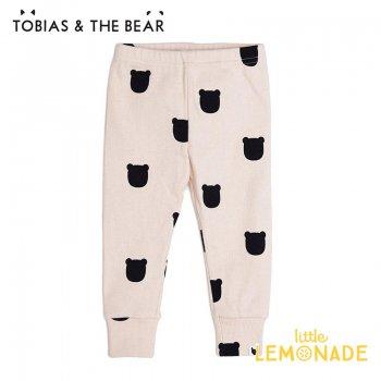 【Tobias & The Bear】 ブラッシュベアー レギンス 【3-6/6-9/9-12/12-18/18-24か月/2-3歳】   Blush Bear leggings  (BLBEL)