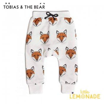 【Tobias & The Bear】 キツネ Joggaer Pants スウェットパンツ 【18-24か月/2-3歳/3-4歳】  Just Call Me Fox joggers (FOXJ)