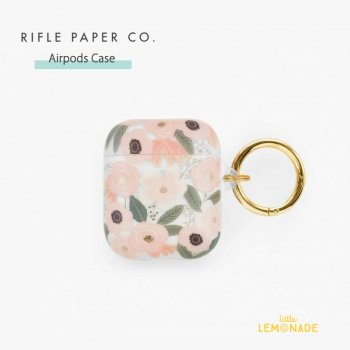 【RIFLE PAPER】 AirPods Case ワイルドフラワー CLEAR WILDFLOWERS  (PAC004)