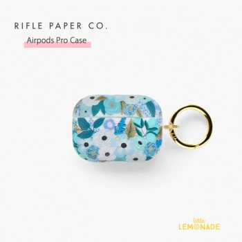 【RIFLE PAPER】 AirPods Pro Case ブルーガーデン CLEAR GARDEN PARTY BLUE   (PAC003-P)