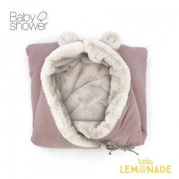 【BABYSHOWER】 ベア ベビーネスト/ピンク TEDDY BEAR ANGEL NEST ベビープレイマット オーガニックコットン スペイン製 (TEDPTL)