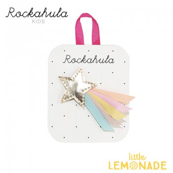 【Rockahula Kids】Wish Upon A Star Clip-Multi/マルチカラー流れ星ヘアクリップ(H1273R)