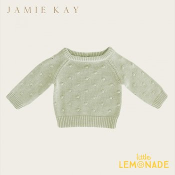 【Jamie Kay】 DOTTY KNIT - ALFALFA MARLE【6-12か月/1歳/2歳/3歳/4歳】 ドットニット  ニット セーター トップス ジェイミーケイ 女の子 男の子