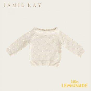 【Jamie Kay】 DOTTY KNIT - FAIRY DUST【1歳/2歳/3歳】 ドットニット  ニット セーター トップス ジェイミーケイ
