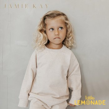 【Jamie Kay】 FLECK DYLAN SWEATSHIRT - HONEY【6-12か月/1歳/2歳/3歳】トップス 長袖 ジェイミーケイ ニュージーランド 子供 女の子 男の子