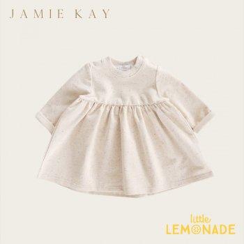 【Jamie Kay】 FLECK CHARLOTTE DRESS - LILAC LOVE【1歳/2歳/3歳】ワンピース ドレス トップス 長袖 ジェイミーケイ ニュージーランド 子供 女の子