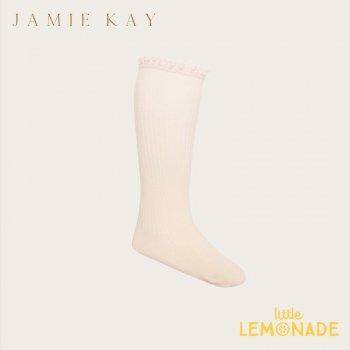 【Jamie Kay 】Ellie Sock - MILK【0-3か月/3-12か月/1-2歳】  靴下 ソックス 子供 ひざ下丈 おしゃれ リトルレモネード 子供服 アパレル