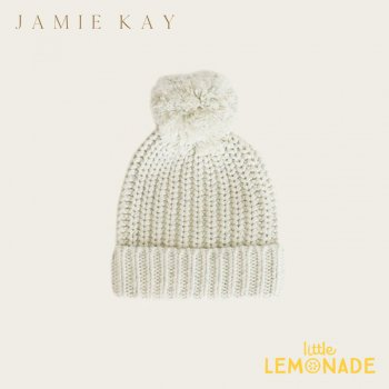 【Jamie Kay】 COSY HAT - PISTACHIO FLECK【0-2歳/2歳以上】 ピスタチオ ベビー用 子供用 ニット帽 帽子 ジェイミーケイ