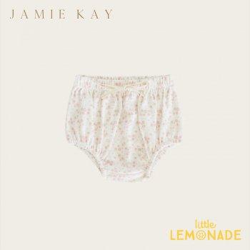 【Jamie Kay】 ORGANIC COTTON BLOOMER - PRIMROSE FLORAL【3-6か月/6-12か月/1歳】ブルマ ボトムス ベビー服 フローラル 花柄 ジェイミーケイ