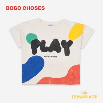 <img class='new_mark_img1' src='https://img.shop-pro.jp/img/new/icons1.gif' style='border:none;display:inline;margin:0px;padding:0px;width:auto;' />【BOBO CHOSES】  Play Landscape Short Sleeve T-Shirt 【4-5Y/6-7Y/8-9Y】 121AC008  Tシャツ ボボショーズ 21SS YKZ