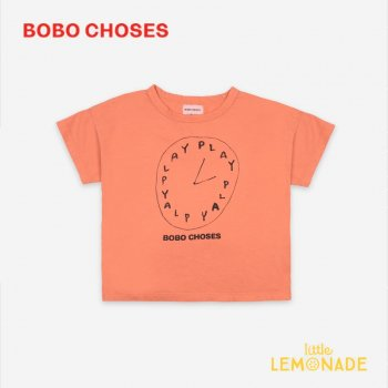 <img class='new_mark_img1' src='https://img.shop-pro.jp/img/new/icons1.gif' style='border:none;display:inline;margin:0px;padding:0px;width:auto;' />【BOBO CHOSES】  Playtime Short Sleeve T-Shirt【4-5Y/6-7Y/8-9Y】 121AC148 Tシャツ ボボショーズ アパレル 21SS YKZ