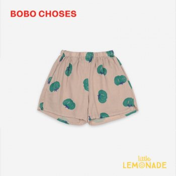 <img class='new_mark_img1' src='https://img.shop-pro.jp/img/new/icons1.gif' style='border:none;display:inline;margin:0px;padding:0px;width:auto;' />【BOBO CHOSES】 Tomatoes All Over Woven Shorts【2-3Y/4-5Y/6-7Y】 121AC073 ショートパンツ ボボショーズ アパレル 21SS YKZ