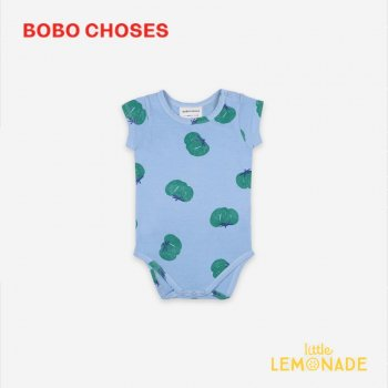 <img class='new_mark_img1' src='https://img.shop-pro.jp/img/new/icons1.gif' style='border:none;display:inline;margin:0px;padding:0px;width:auto;' />【BOBO CHOSES】 Tomatoes All Over Short Sleeve Body 【6-12M/12-18M】 121AB019 ロンパース ボボショーズ アパレル 21SS YKZ