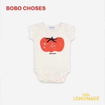 <img class='new_mark_img1' src='https://img.shop-pro.jp/img/new/icons1.gif' style='border:none;display:inline;margin:0px;padding:0px;width:auto;' />【BOBO CHOSES】 Tomato Short Sleeve Body 【6-12M/12-18M】 121AB022 ロンパース ボボショーズ アパレル 21SS YKZ