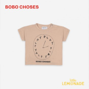 <img class='new_mark_img1' src='https://img.shop-pro.jp/img/new/icons1.gif' style='border:none;display:inline;margin:0px;padding:0px;width:auto;' />【BOBO CHOSES】 Playtime Short Sleeve T-shirt 【12-18M/18-24M/24-36M】 121AB007 半袖 Tシャツ ボボショーズ 21SS YKZ