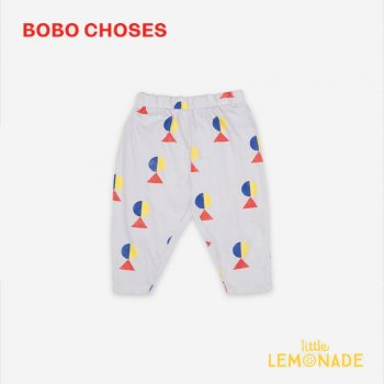 【BOBO CHOSES】 Geometric All Over Jersey Trousers【12-18M/18-24M/24-36M】 121AB060  ボボショーズ  21SS YKZ