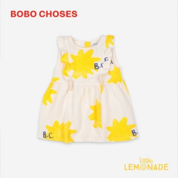 <img class='new_mark_img1' src='https://img.shop-pro.jp/img/new/icons1.gif' style='border:none;display:inline;margin:0px;padding:0px;width:auto;' />【BOBO CHOSES】 Sparkle All Over Ruffle Dress【6-12M/12-18M/18-24M】 121AB071 ワンピース ボボショーズ  21SS YKZ