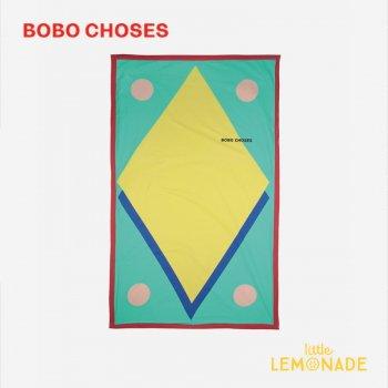 【BOBO CHOSES】 Geometric Towel 121AU002 タオル ギフト プレゼント 幾何学  ボボショーズ アパレル 21SS YKZ