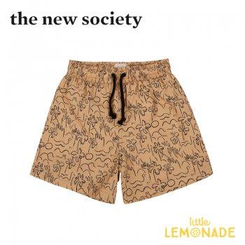 【The New Society】 BOY SWIM PALM 男の子用水着 ヤシの木柄 【6歳/8歳/10歳】 夏 スイムウェア 子供服 (SS21K1000101) YKZ