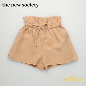 【The New Society】 ANGIE SHORT/CAMEL ショートパンツ キャメル【6歳/8歳/10歳】夏 半ズボン 夏休み 子供服 (SS21KW340201) YKZ