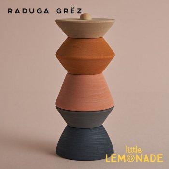 【Raduga Grez】 Big sculpture stacking tower スタッキングタワー ロシア製 積み木 木製 おもちゃ RG04013