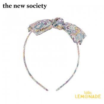 【The New Society】CAMILA HEADBAND ブルー リバティカチューシャ ヘアアクセサリー  花柄 21SS (SS21A950101) YKZ