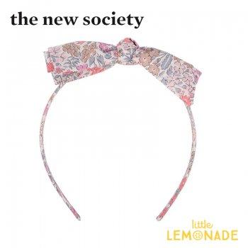 【The New Society】LEOPOLDA HEADBAND ピンク リバティカチューシャ ヘアアクセサリー  花柄 21SS (SS21A950102) YKZ