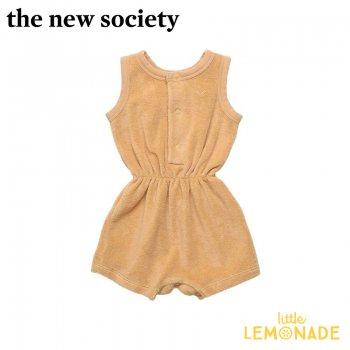 【The New Society】JOSEPH BABY ROMPER キャメル サロペット【12か月/2歳】 ベビー服 21SS (SS21B410601) YKZ
