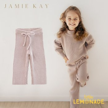 【Jamie Kay】 MORGAN KNIT PANT - ROSEBUD  【1歳/2歳/3歳】 ニット パンツ ボトムス  ジェイミーケイ