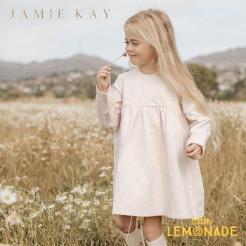 【Jamie Kay】 CHARLOTTE DRESS - EVIE FLORAL   【6-12か月/1歳/2歳/3歳】 フラワー プリント ワンピース YKZ