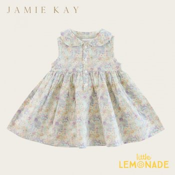 <img class='new_mark_img1' src='https://img.shop-pro.jp/img/new/icons1.gif' style='border:none;display:inline;margin:0px;padding:0px;width:auto;' />【Jamie Kay】 PIPER DRESS - MAYFLOWER 【1歳/2歳/3歳】  丸襟 フラワープリント ワンピース
