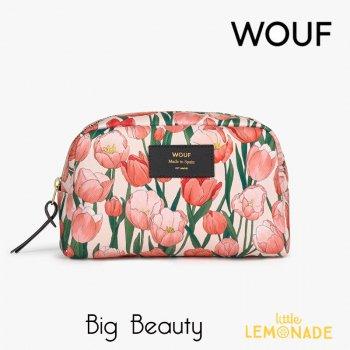 【WOUF】化粧ポーチ 【Amsterdam】Big Beauty 小物入れ 小物ポーチ チューリップ 花  (MB210002)