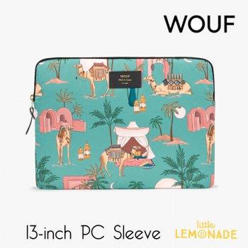 【WOUF】 13インチ PCケース 【Sahara】 パソコン用スリーブ Macbook Pro 13inch PC Sleeve サハラ 砂漠 ラクダ (S210003)