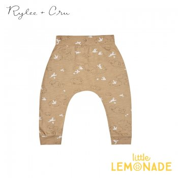 【Rylee+Cru】 clouds slouch pant 【12-18か月/18-24か月/2-3歳】 RC004AD 2021SS ボトムス レギンス ライリーアンドクルー ykz SALE