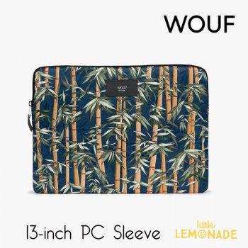 【WOUF】 13インチ PCケース 【Bamboo】 竹 バンブー パソコン用スリーブ Macbook Pro 13inch PC Sleeve (SM210002)